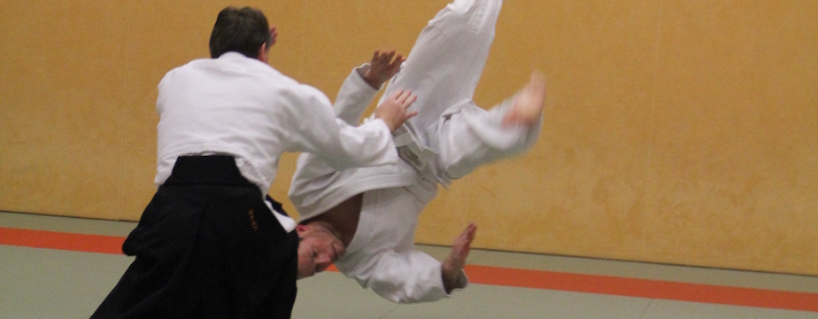 Aikido is vallen